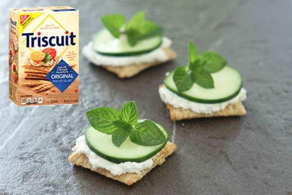 triscuits grey background