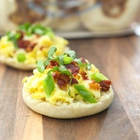 English Muffin Breakfast Pizzas 7