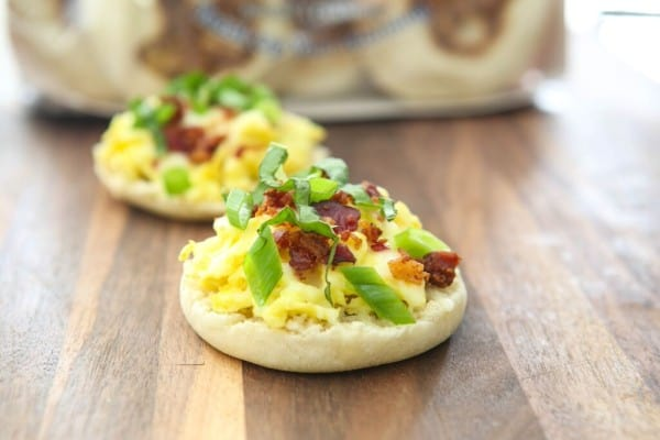 English Muffin Breakfast Pizzas Recipe