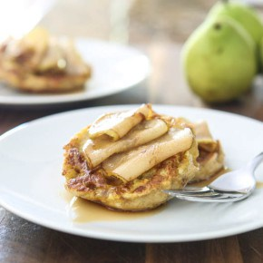 Pumpkin Pear English Muffin French Toast 6