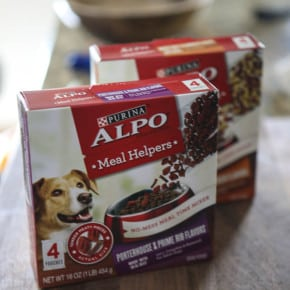 For Your Picky Pooches: Alpo Meal Helpers 9