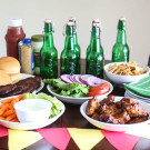 The Easy At Home Tailgate Party @EclecticEveryday