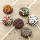 Holiday OREO Cookie Pops and How To Set a Christmas Table @EclecticEveryday