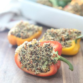 Quinoa Stuffed Bell Peppers 5
