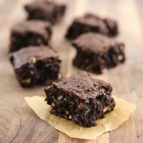 Cocoa Brownies with Browned Butter 4
