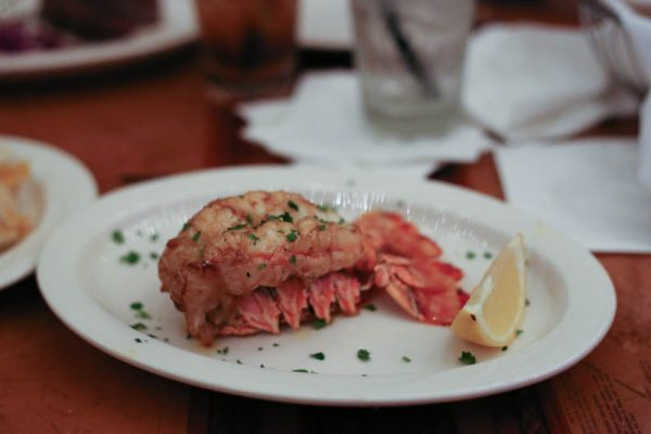 picture of lobster tail