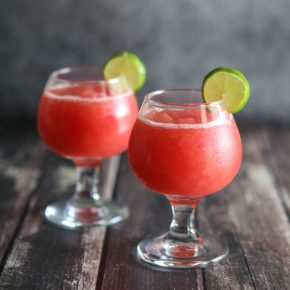 Key Lime Watermelon Slush 1