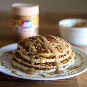 Peanut Butter Pancakes 2