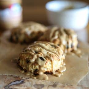 Peanut Butter and Chocolate Chip Biscuits @EclecticEveryday