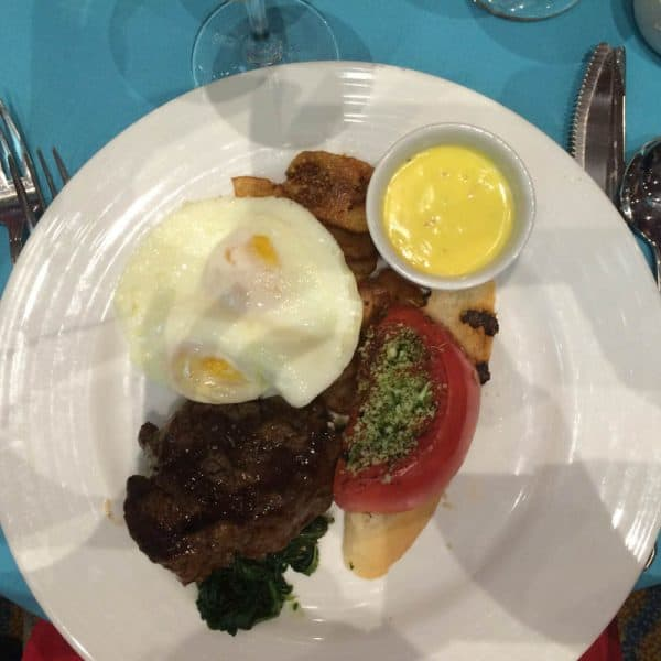 picture of steak and eggs