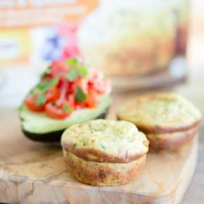 Jimmy Dean's Delights Frittatas with Fresh Avocado, Tomato and Parsley by Eclectic Recipes