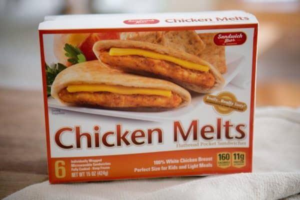 chicken melt box