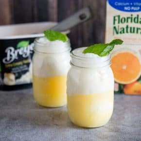 Ginger Beer Floats by Eclectic Recipes