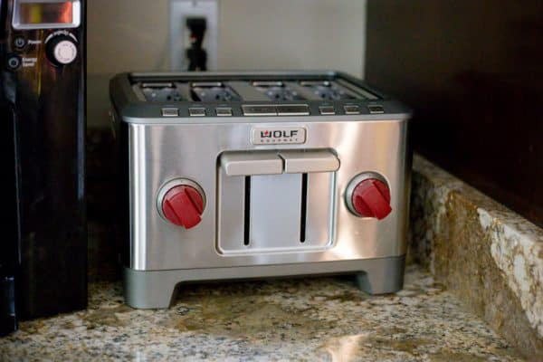 wold gourmet 4-slice toaster