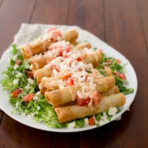 BBQ Taquitos and a 7-Day Cruise Giveaway! by Eclectic Recipes