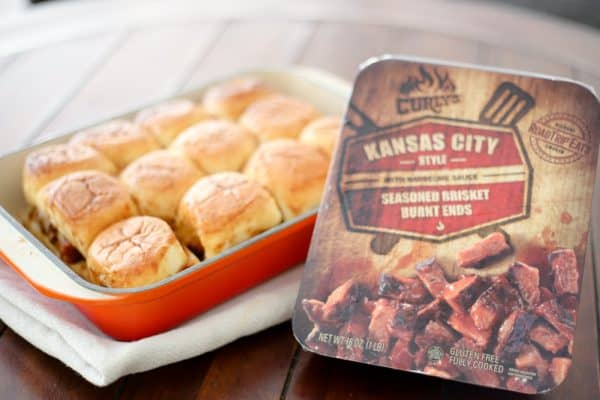 sliders and kansas city brisket ends