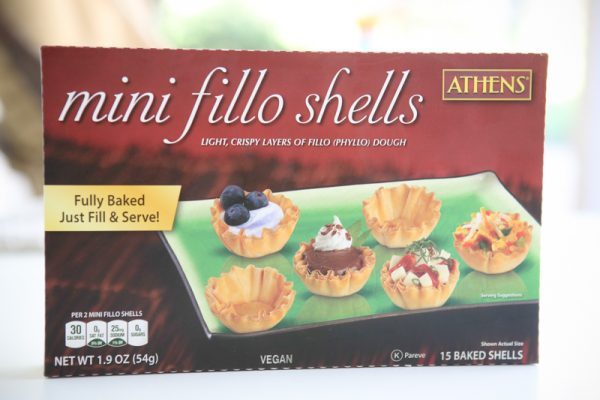 mini fillo shells box