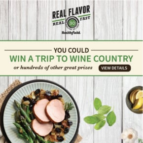 Win a Trip to Wine Country with Smithfield® by Eclectic Recipes