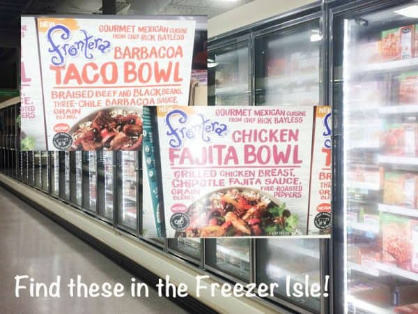 frontera meals in freezer aisle