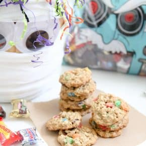 Oatmeal M&M'S® Cookies by Eclectic Recipes