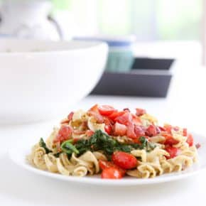 BLT Noodles by Eclectic Recipes
