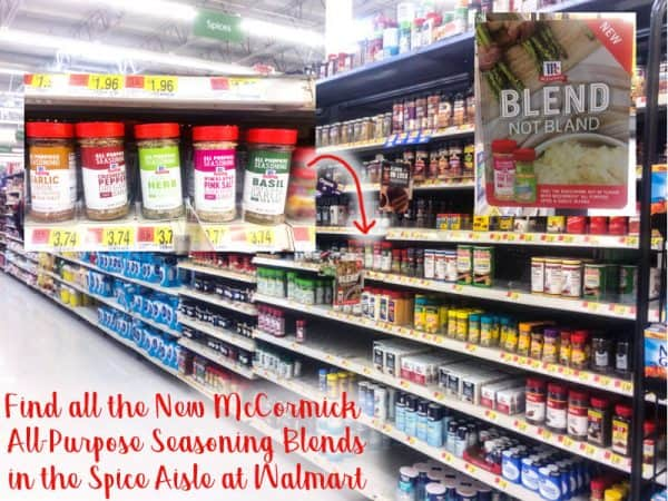 McCormick All Purpose Seasoning Blends in aisle