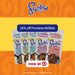 Save 25% off Frontera Skillets at Target by Eclectic Recipes