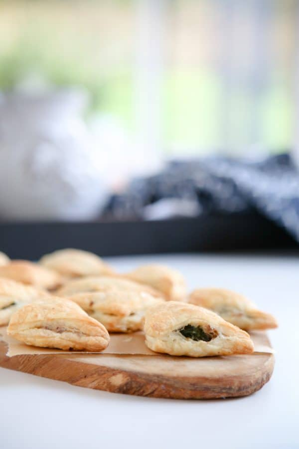 stuffed pastry turnovers
