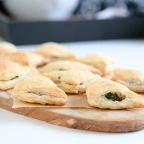 Sausage Stuffed Puff Pastry Turnovers by Eclectic Recipes