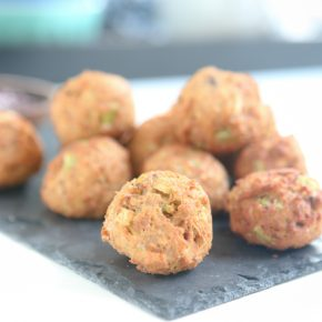 Deep Fried Stuffing Balls @EclecticEveryday