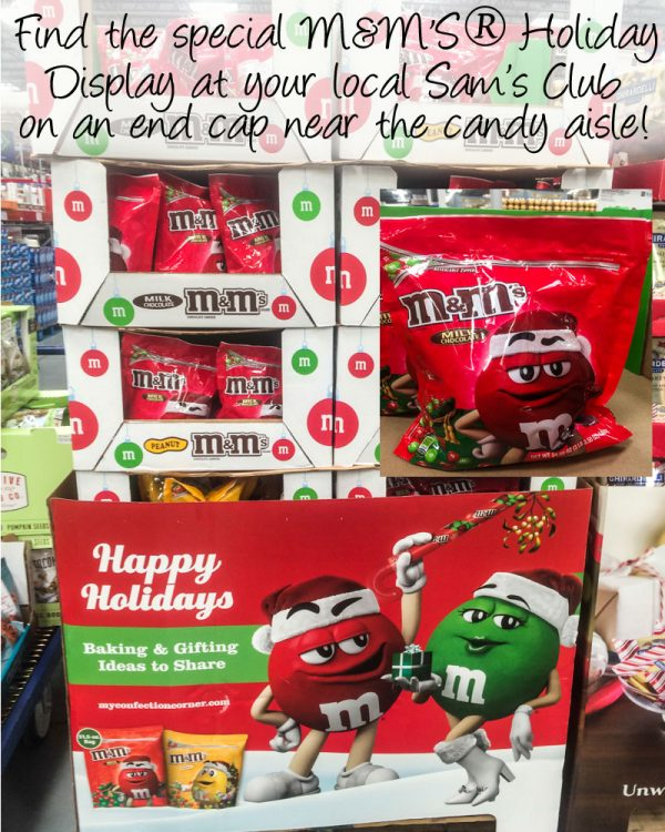 m&ms in store aisle