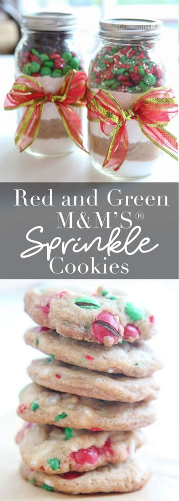 M&M® Sprinkle Cookies and Jar Mix banner