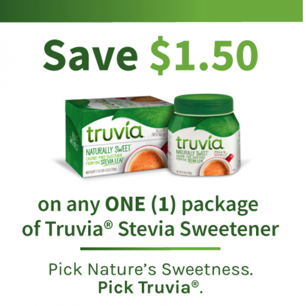 Save on Truvia® Stevia Sweetener! @EclecticEveryday
