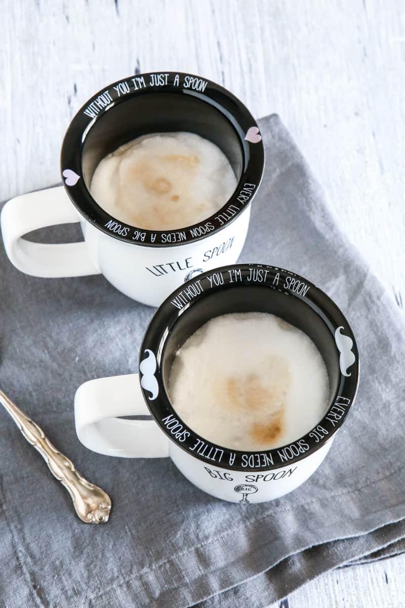 coffee in coffee mugs