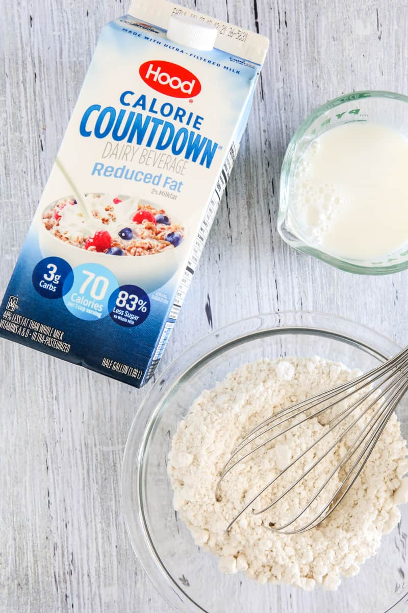 pancake mix with hood calorie countdown
