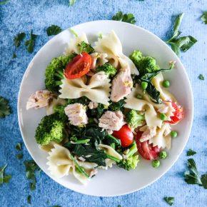 Tuna Pasta Primavera by Eclectic Recipes
