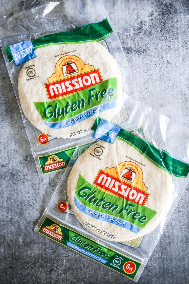 gluten free mission tortillas