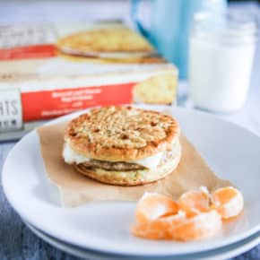 Perfect for Busy Mornings! NEW Jimmy Dean Delights® Egg'wich by Eclectic Recipes