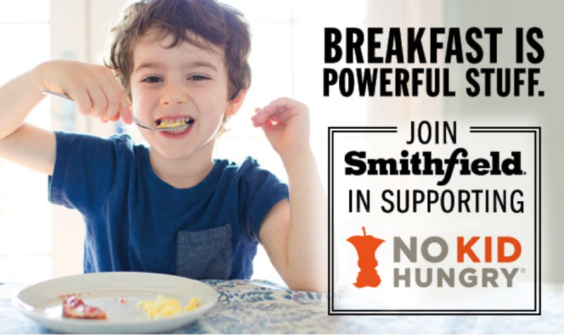 breakfast is powerful stuff Smithfield No Kid Hungry