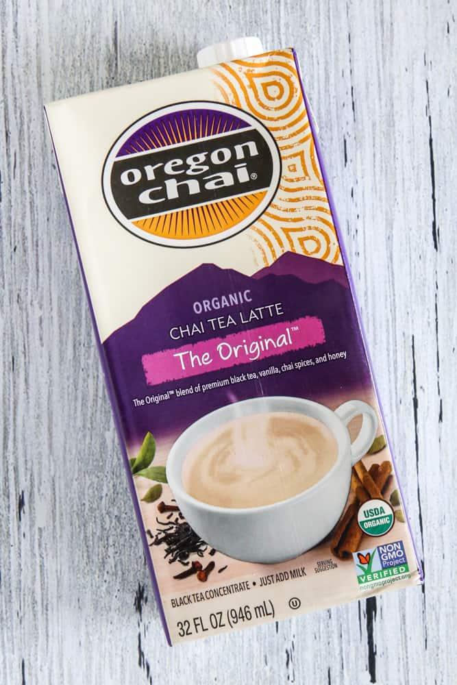 carton of oregon chai tea