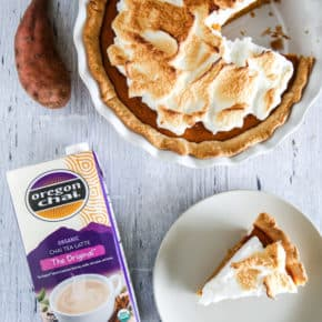 Chai Spiced Sweet Potato Pie by Eclectic Recipes