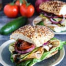 Frank's RedHot Bacon Cheeseburger & Ultimate HomeGate Sweepstakes by Eclectic Recipes