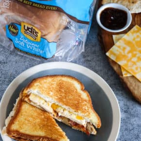 Monterey Chicken Grilled Cheese Recipe by Eclectic Recipes