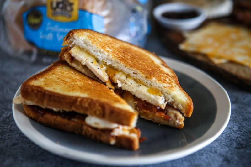 Monterey Chicken Grilled Cheese Recipe Recipe