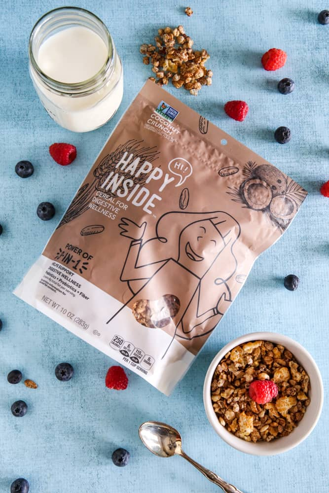 New Happy Inside cereal from Kellogg's Recipe