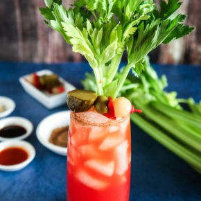 Bloody Caesars by Eclectic Recipes