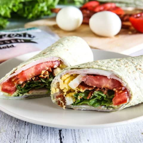Cobb Salad Wraps Recipe