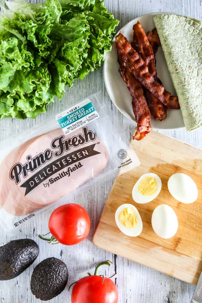 Prime Fresh Sandwich Meat with bacon and eggs