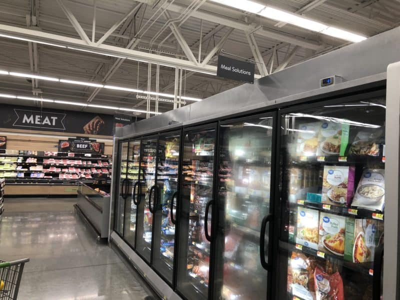 frozen food aisle Walmart