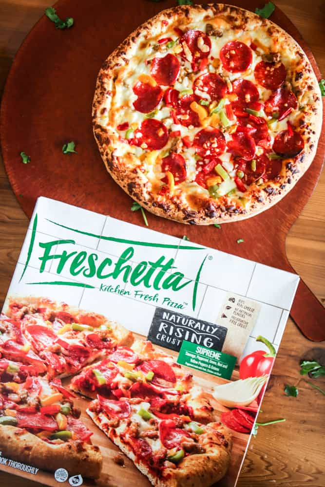 single supreme freschetta pizza